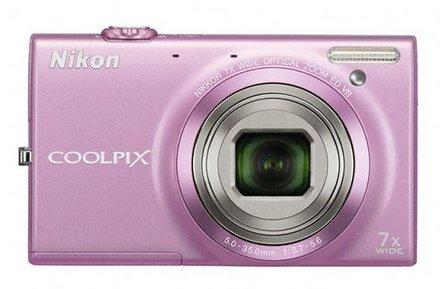 Nikon Coolpix S6150 růžový