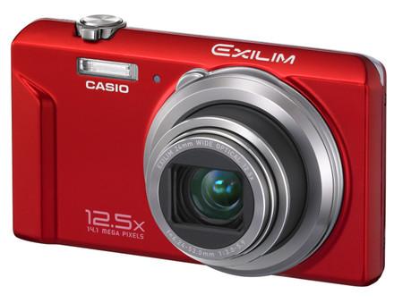 Casio EXILIM ZS100 červený