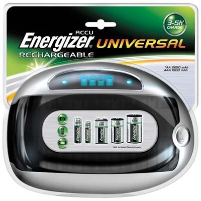 Energizer univerzální nabíječka s LCD