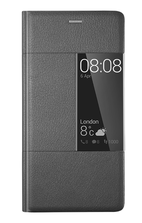 Huawei flipové pouzdro Smart Cover pro P9 Plus šedé