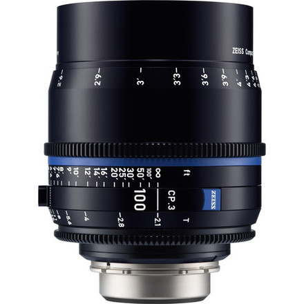 Zeiss Compact Prime CP.3 T* 100mm f/2,1 pro Canon