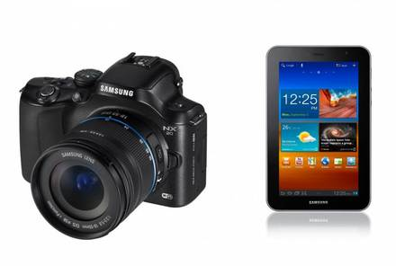 Samsung NX20 + 18-55 mm OIS + Tablet Galaxy P5100!