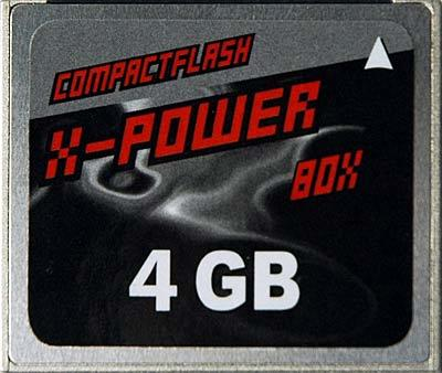 X-Power 4 GB CF II