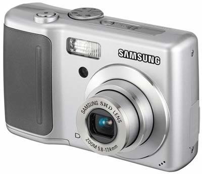 Samsung D60 stříbrný