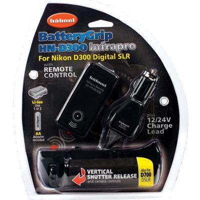 Hähnel bateriový grip HN-D300 + infra dálkové ovládání