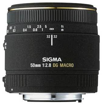 Sigma 50mm f/2,8 EX DG MACRO pro Canon
