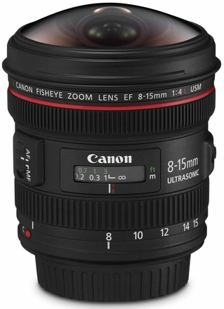 Canon EF 8-15mm f/4,0 L USM fisheye