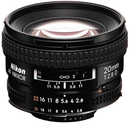 Nikon 20mm f/2,8 AF NIKKOR D A
