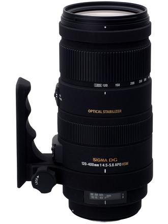 Sigma 120-400mm f/4,5-5,6 APO DG OS HSM pro Nikon