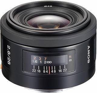 Sony 28mm f/2,8