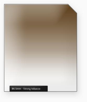 84.5mm Classic 100mm filtr silný tabák