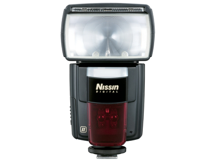 Nissin blesk Di866 Mark II pro Nikon + portrétní set + nabíječka s 4x AA 2450 mAh!