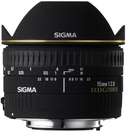 Sigma 15mm f/2,8 EX DG rybí oko pro Pentax