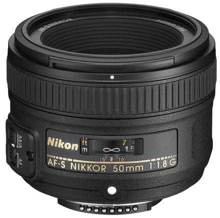 Nikon 50mm f/1,8 AF-S NIKKOR G + ochranný filtr + PL filtr + Lenspen!