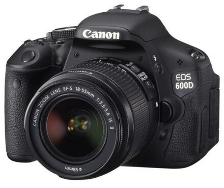 Canon EOS 600D + 18-55 mm IS II + 16GB karta + brašna + filtr UV 58mm!