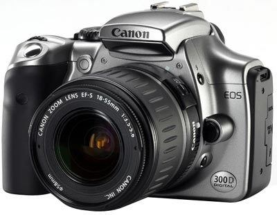 Canon EOS 300D + 18-55mm