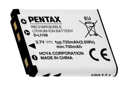 Pentax akumulátor D-LI108