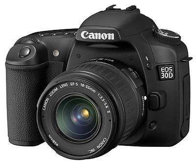 Canon EOS 30D + EFs 18-55 mm