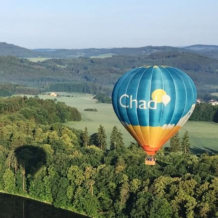 Focení z horkovzdušného balónu