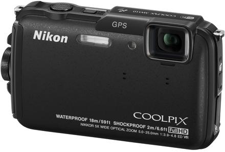 Nikon CoolPix AW110 černý + 8GB karta + neoprénové pouzdro + plovoucí poutko!