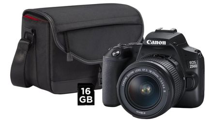 Canon EOS 250D + 18-55 mm Value Up! Kit