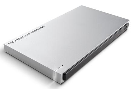 "LaCie Porsche Design Slim 500GB HDD, 2.5"" USB 3.0, hliníkový, světle šedý"