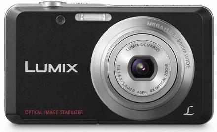 Panasonic Lumix DMC-FS28 černý + 4GB karta + pouzdro DF12!