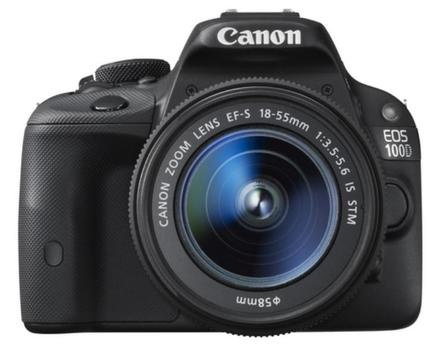 Canon EOS 100D + 18-55 mm IS STM + 8GB karta + brašna + filtr 58mm!