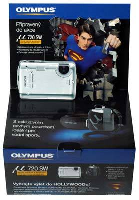 Olympus Mju 720 SW Superman Kit