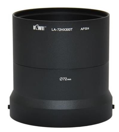 JJC adaptér na filtr LA-72HX300T pro HX300, HX350 a HX400