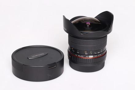 Samyang 12 mm f/2.8 ED AS NCS Fisheye pro Canon bazar