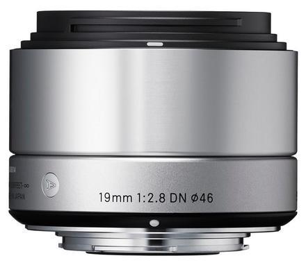 Sigma 19mm f/2,8 DN Art pro micro 4/3 stříbrný