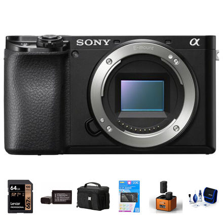 Sony Alpha A6100 tělo černý - Foto kit