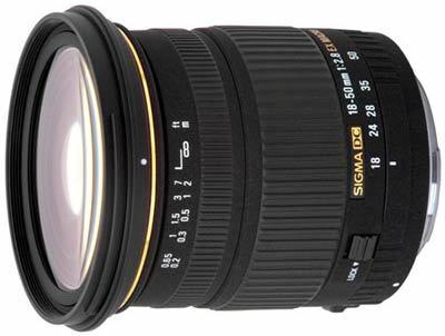 Sigma 18-50 mm F2,8 EX DC Macro pro Canon + utěrka Sigma zdarma!