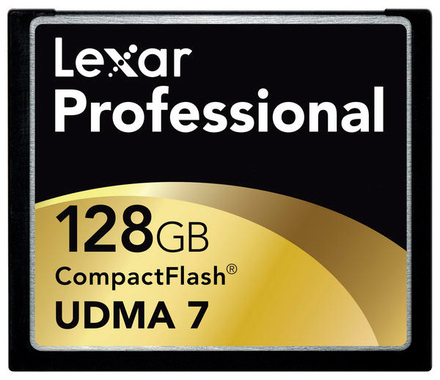 Lexar CF 128GB 800x Professional