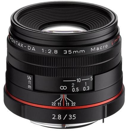 Pentax HD DA 35mm f/2,8 Macro Limited černý