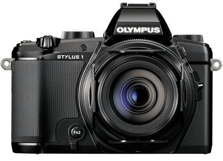 Olympus Stylus 1s + 16GB Ultra + pouzdro + adaptér + PL filtr 55mm!!