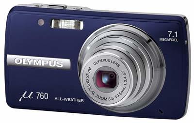 Olympus Mju 760 modrá