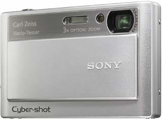 Sony DSC-T20 stříbrný