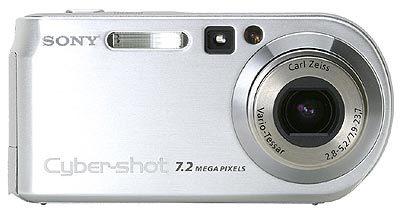 Sony DSC-P200 stříbrná