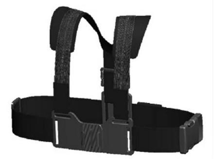 AEE hrudní držák pro kamery SD18, SD21, S71 a GoPro