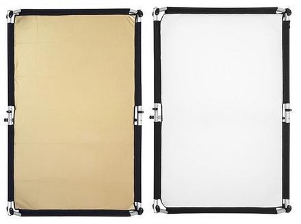 Fomei Quick Clap I - návlek na odraznou desku zlatý/bílý