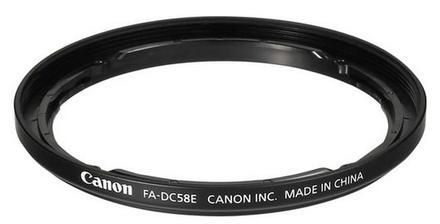 Canon adaptér na filtr FA-DC58E