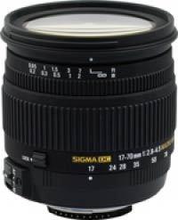 Sigma 17-70 mm F 2,8-4,5 DC Macro HSM pro Nikon + utěrka Sigma zdarma!