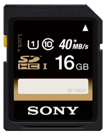 Sony SDHC 16GB Class 10 UHS-I