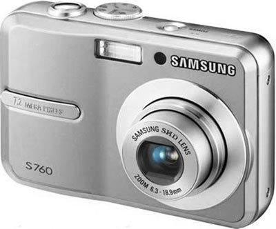 Samsung S760 stříbrný