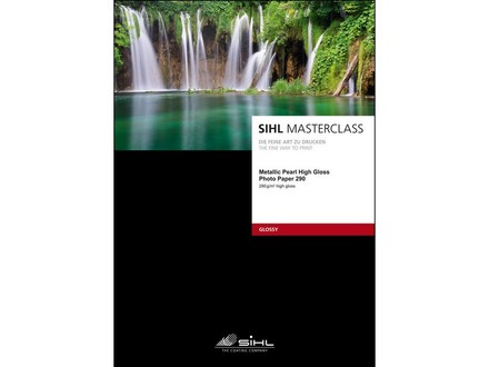 SIHL Metallic Pearl High Gloss Photo Paper A3+ (32,9 x 48,3cm)/25
