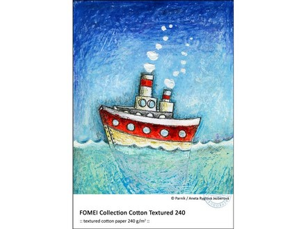 FomeiJet Collection Cotton Textured 240 A4/20