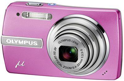 Olympus Mju 840 růžový