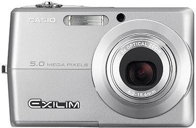 Casio EXILIM - Z500 stříbrný